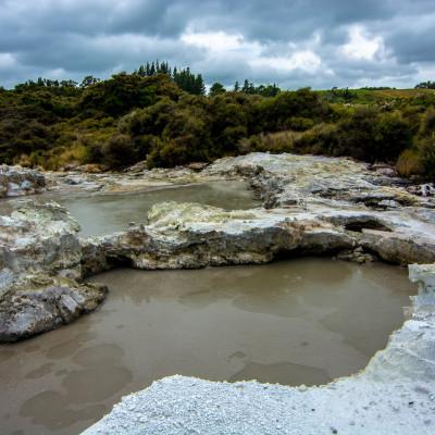 Hell's Gate, NZ © Stephanie K. Graf