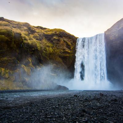 Skógafoss, Iceland © Stephanie K. Graf