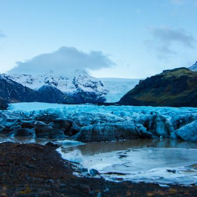 Svínafellsjökull, Skaftafell, Iceland © Stephanie K. Graf