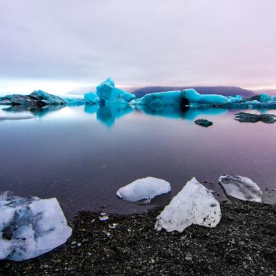 Jökulsárlón Glacier Lagoon, Iceland © Stephanie K. Graf