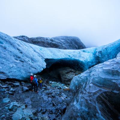 Breiðamerkurjökull, Iceland © Stephanie K. Graf